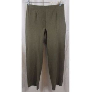 Coldwater Creek Classic Fit Green Pants 6
